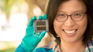 Perovskita nuevo récord de eficiencia en células solares