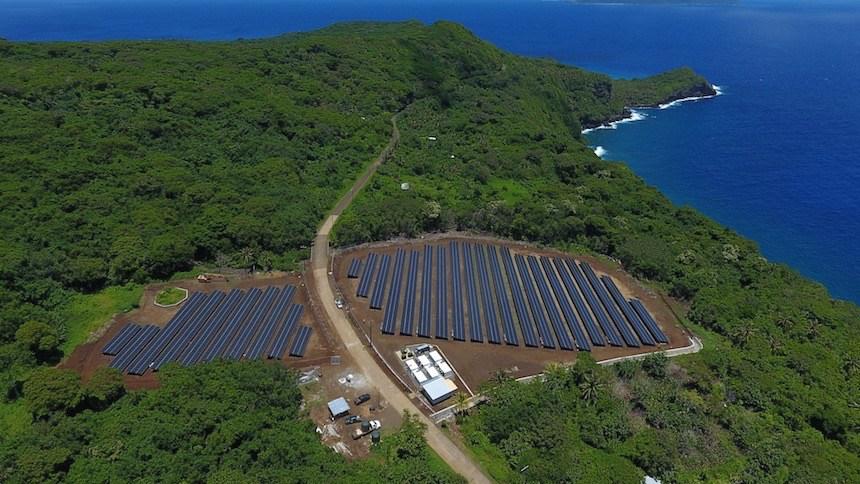 Proyecto realizado por Solarcity.