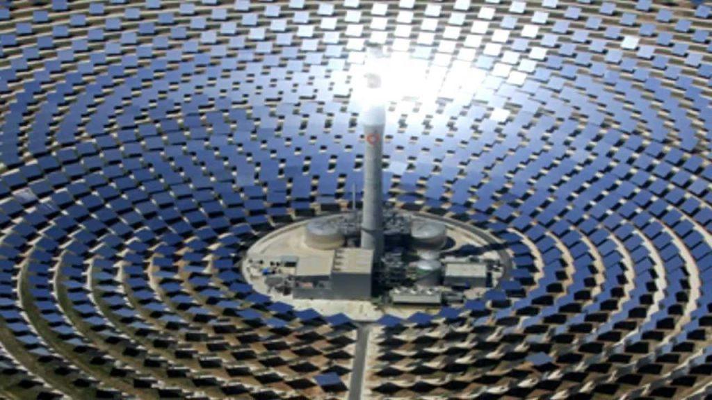 Autolimpiante de los paneles solares