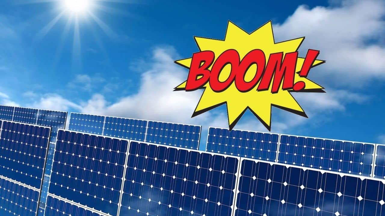 Se acerca el BOOM de la energía solar