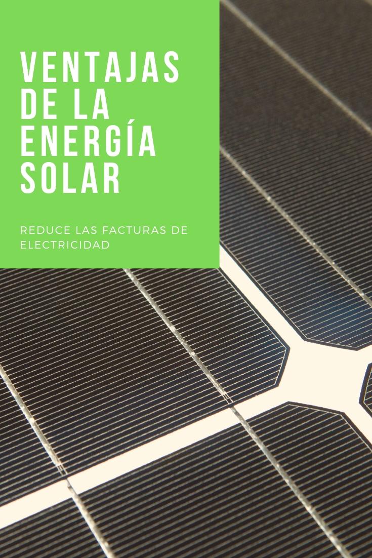 pinterest beneficios de usar la energía solar
