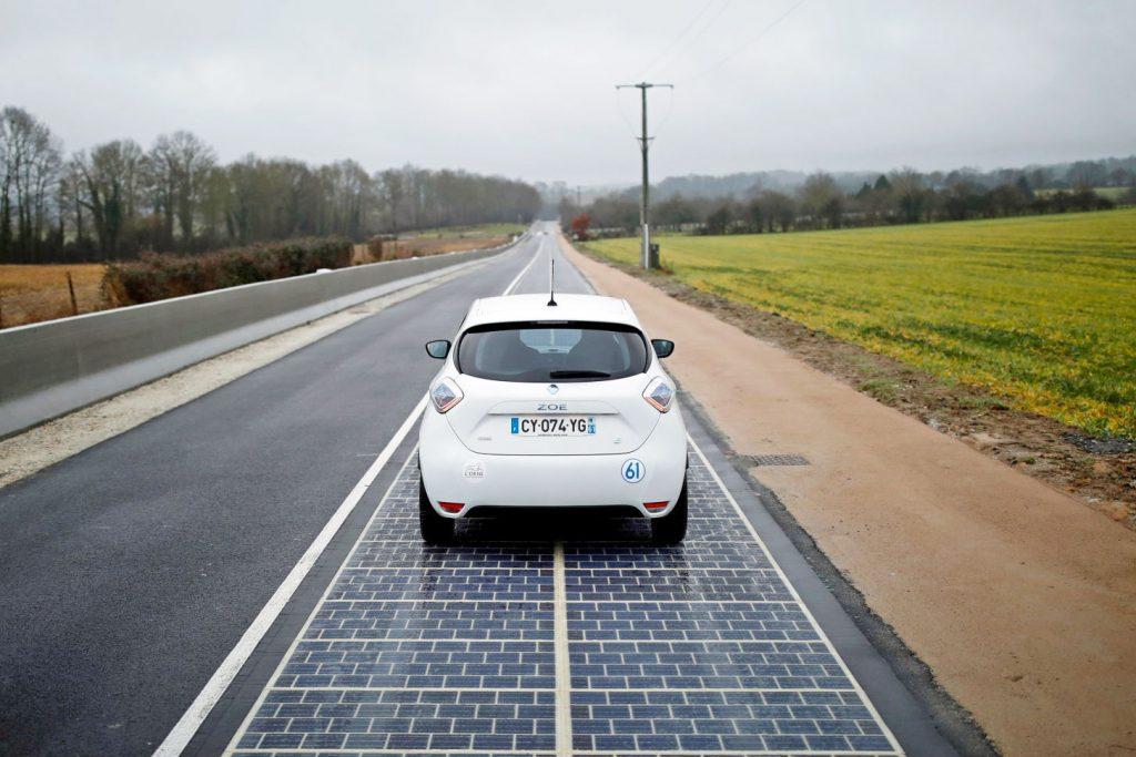 Wattway produce energía eléctrica sin adelantamientos