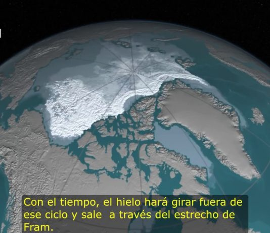 Polo Norte se esta derritiendo vídeo de la NASA