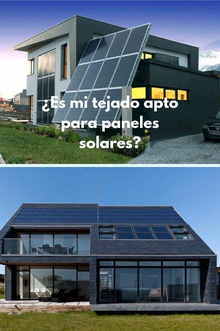¿Es mi tejado apto para paneles solares?