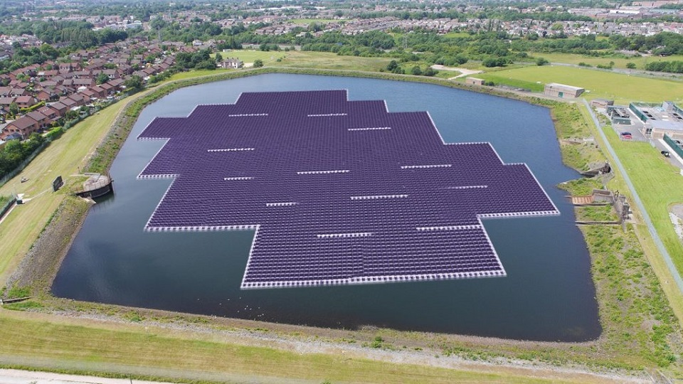 proyectos fotovoltaicos flotantes