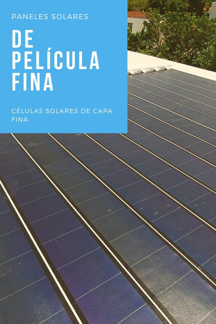 pinterest placas solares de capa fina