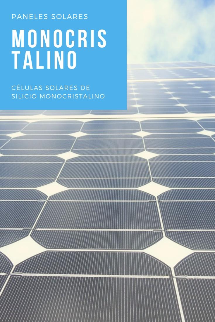 placas solares monocristalino pinterest