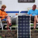 Panel solar flexible y portátil
