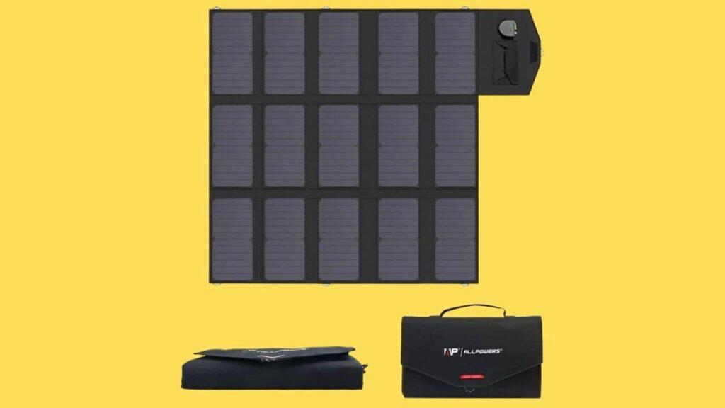 ALLPOWERS Cargador Solar Portátil del Panel 100W