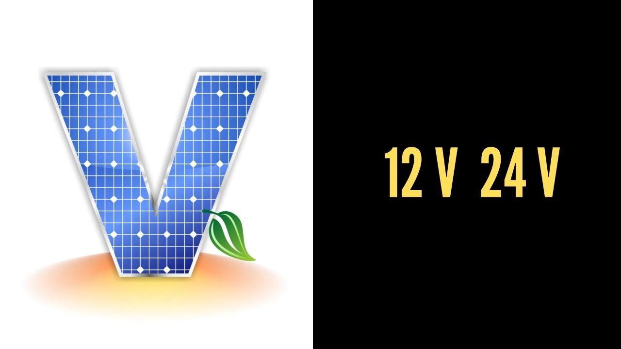 PANELES SOLARES 12V 24 V