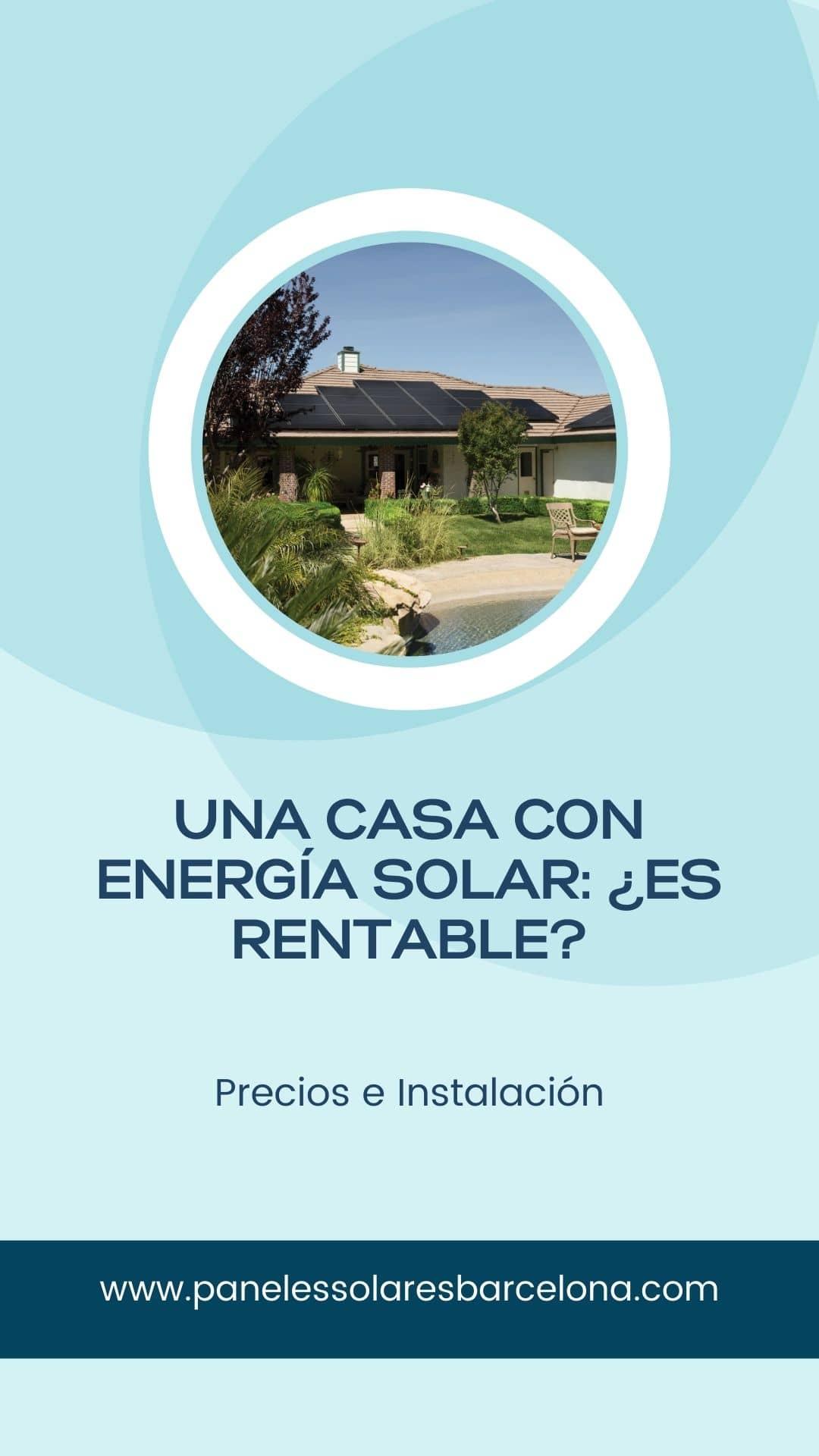 Pinterest rentabilidad placas solares para una vivienda